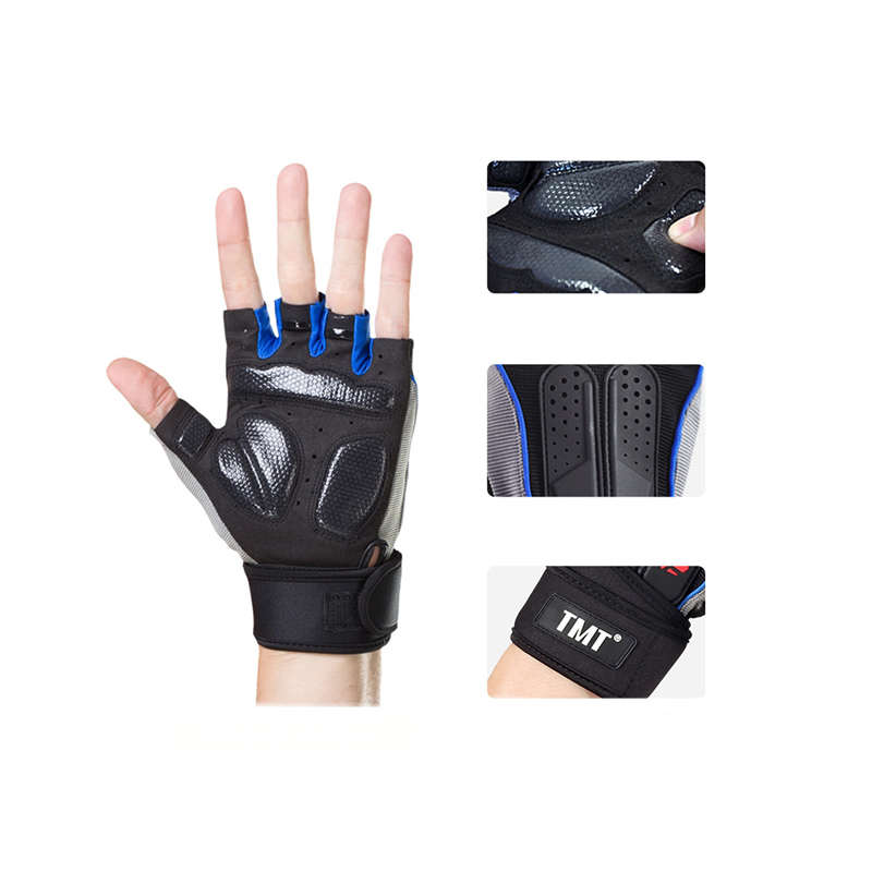 TMT Weight Lifting Fitness Anti-Slip Gym Gloves-M02